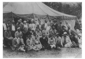 Attendees at the Second Amenia Conference. Original at the LOC