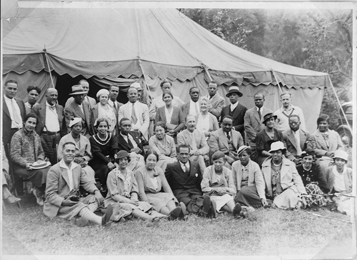Second Amenia Conference, original in the Library of Congress