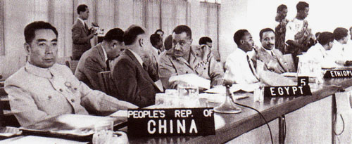 Representatives at the 1955 Bandung Conference Source: http://www.blackleftunity.org