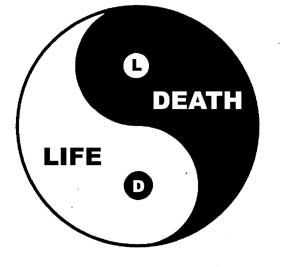 life and death ying and yang