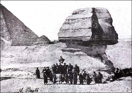 """""""Samurai at the Sphinx"""""""