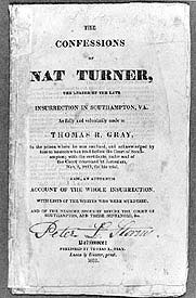 The Confession of Nat Turner