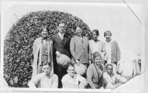 American Delegation to WSCF Conference in Mysore, India 1928