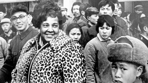 Ethel Payne in Shanghai
