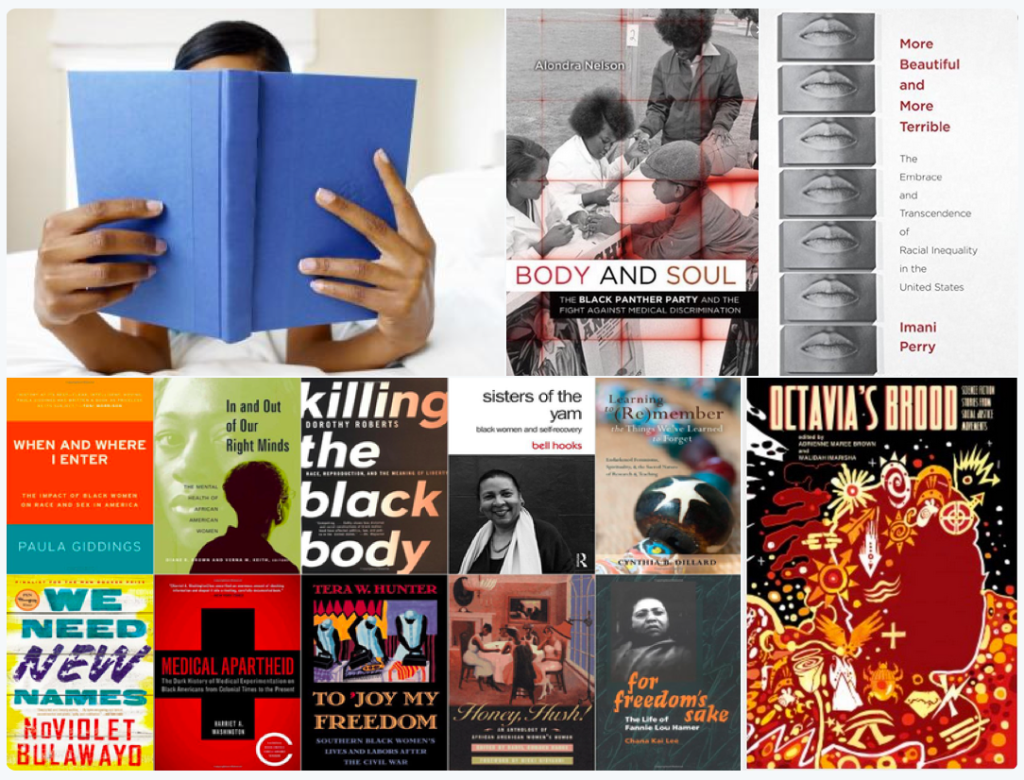 Screenshot of photos tagged #blkwomensyllabus as of 2015 August 13 | 00:11:23 (Snapped by Jessica Marie Johnson)