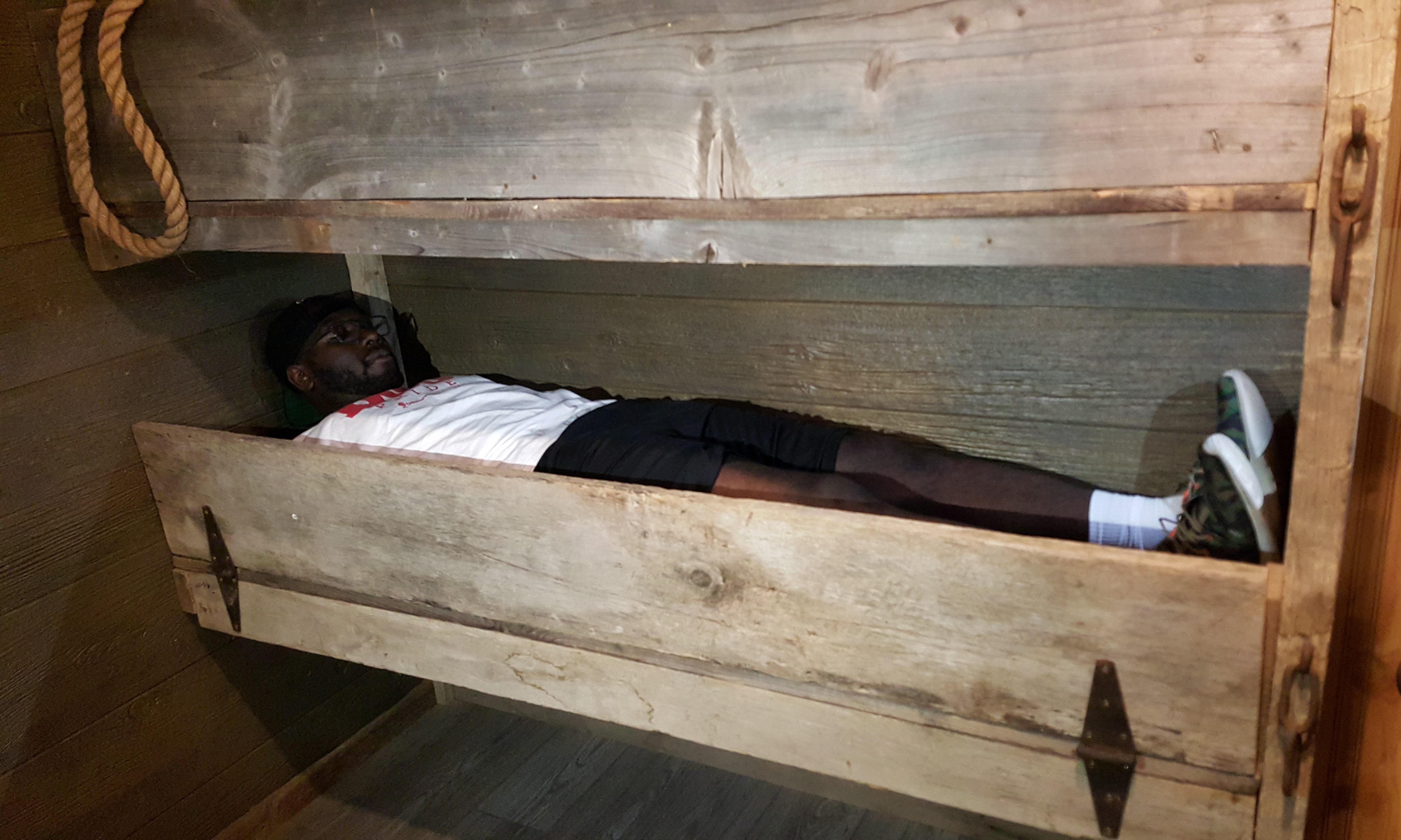 Life Aboard a slave ship