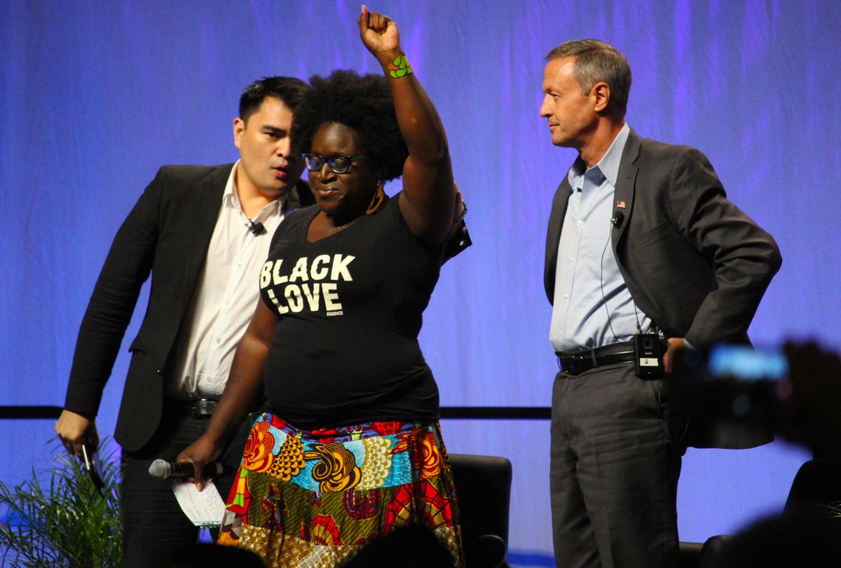 Black Lives Matter Protester Tia Oso