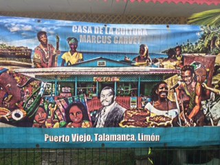 Casa de la Cultura Marcus Garvey in Puerto Viejo, Limon, Costa Rica (courtesy of Michael O. West)
