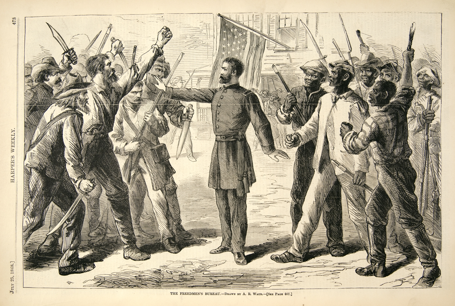 an analysis of the industrial revolution and the abolishment of slavery Did the north really fight to end slavery by ben lewis january 5, 2015 americans are taught two main lessons about the civil war first, that the southern states.