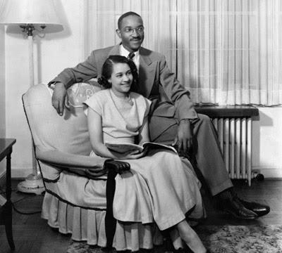 John Hope Franklin and Aurelia Whittington Franklin