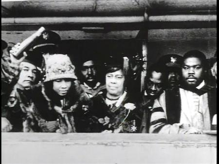 Amy Jacques Garvey, Henrietta Vinton Davis and Marcus Garvey